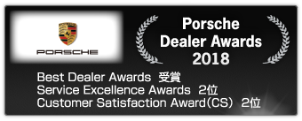 Porsche Dealer Awards 2018