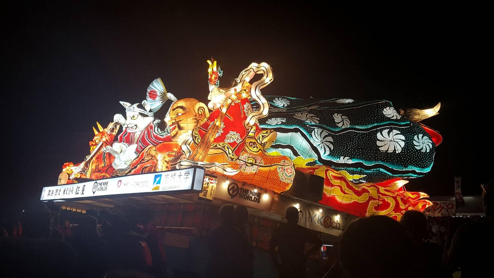 熊本復興ねぶた祭り!!